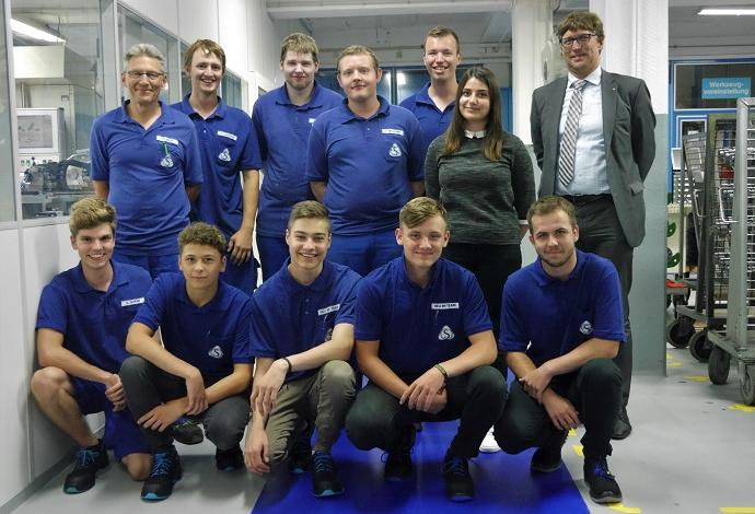 Start of vocational training in 2019